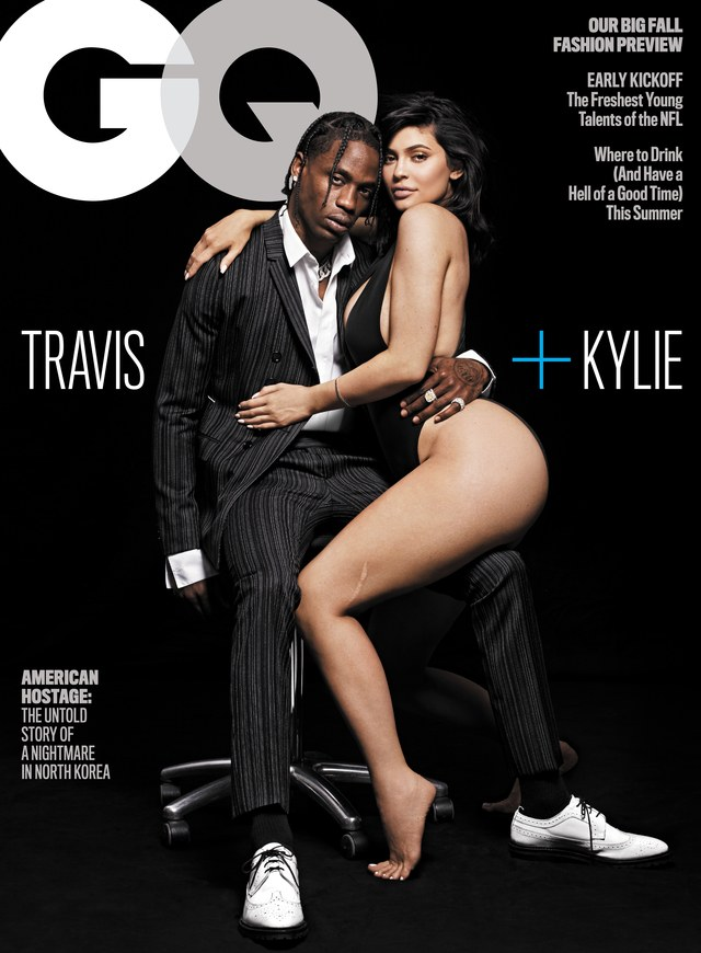 Kylie Jenner and Travis Scott-August-0818-Cover